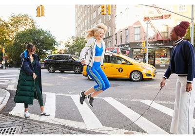 ALYSSA PIZER MANAGEMENT: Sporty in NY By Kate Moore