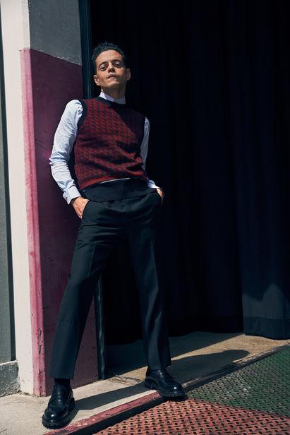 THE KLUBHOUSE : Rami Malek for British GQ