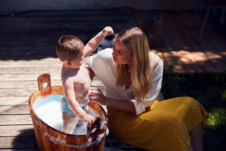 """SEVERIN WENDELER: """"Sanitas campaign 2019"""" Photo & Film by Per Kasch c/o Severin Wendeler"""