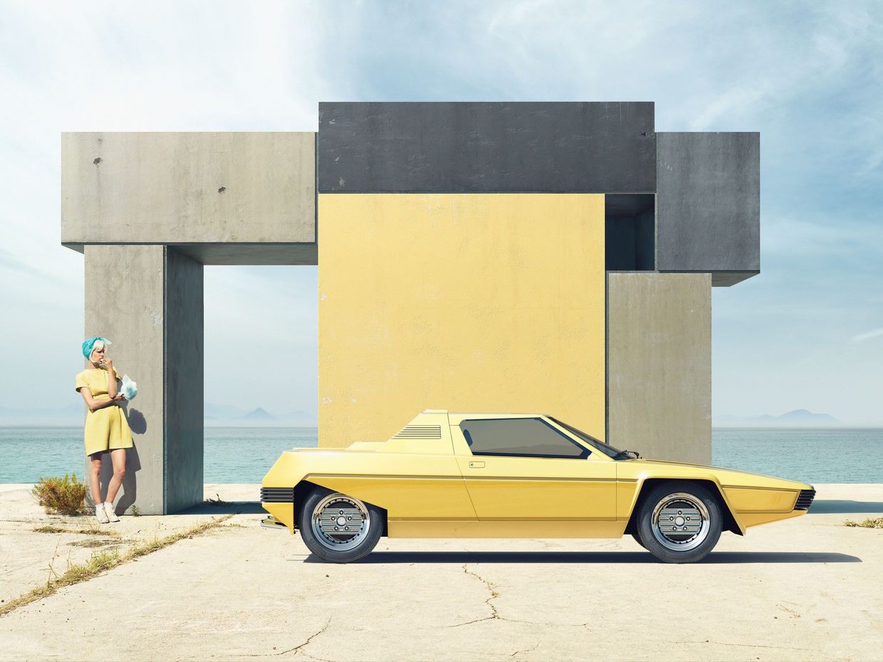 """RECOM CGI : """"OF RAINBOWS AND OTHER MONUMENTS"""" WITH CLEMENS ASCHER"""