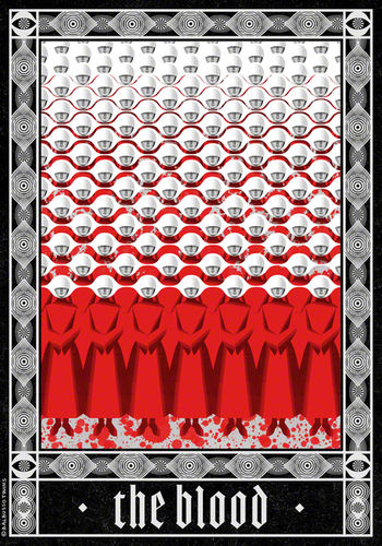 BALBUSSO TWINS - The Blood, freely inspired by Margaret Atwood's Novel The Handmaid's Tale.