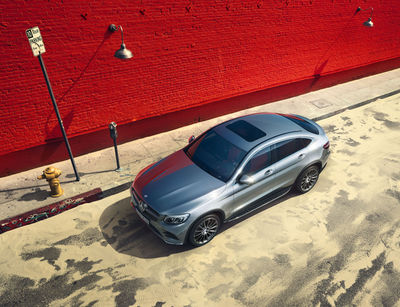 RECOM CGI : Mercedes-Benz GLC Coupé