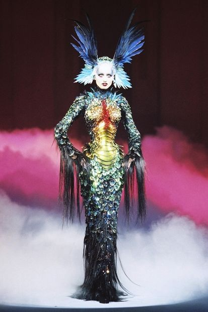 METMUSEUM : Thierry Mugler, Chimere, 1992, by Patrice Stable