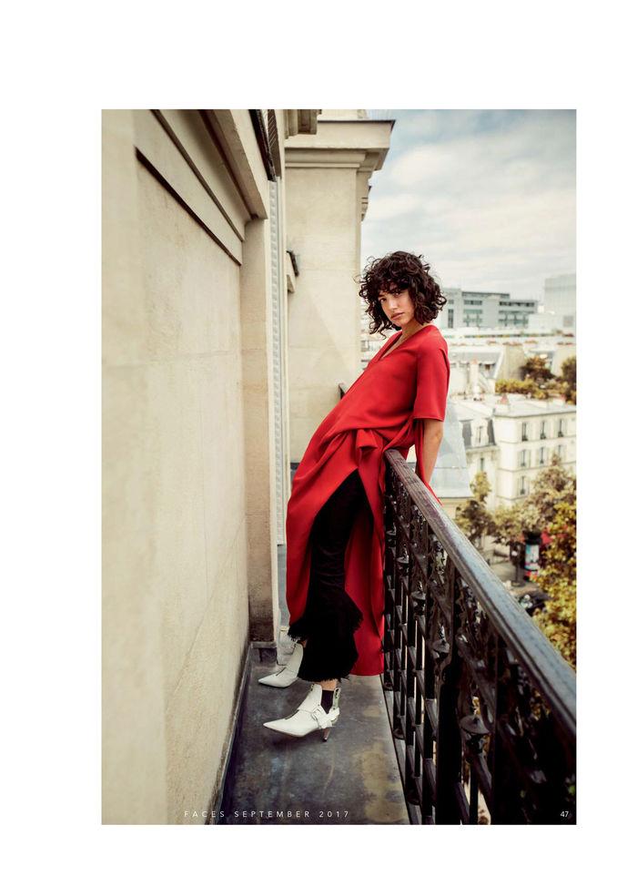 Sandra Weimar c/o Ghp for FACES Magazin