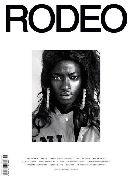 NEW BLOOD AGENCY : Boe MARION for RODEO MAGAZINE