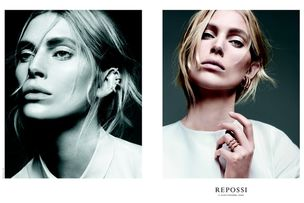 LOUISA MODELS : Iselin STEIRO for REPOSSI