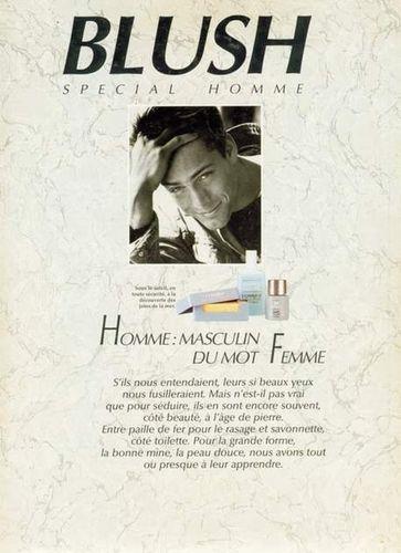 Greg HANSEN for a Brochure of CLINIQUE, Estee LAUDER's Men's Line