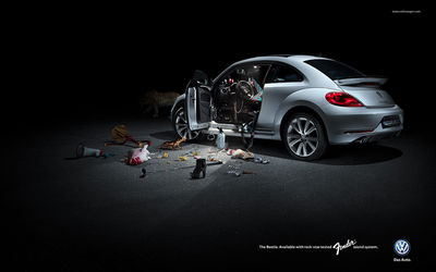 MICHAEL SEIDLER PHOTOGRAPHY - VW Beetle Rockstar Campaign