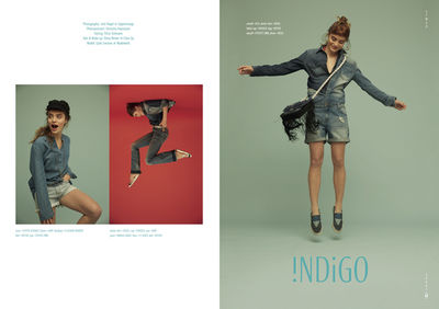 Indigo for STREETWEAR Magazine