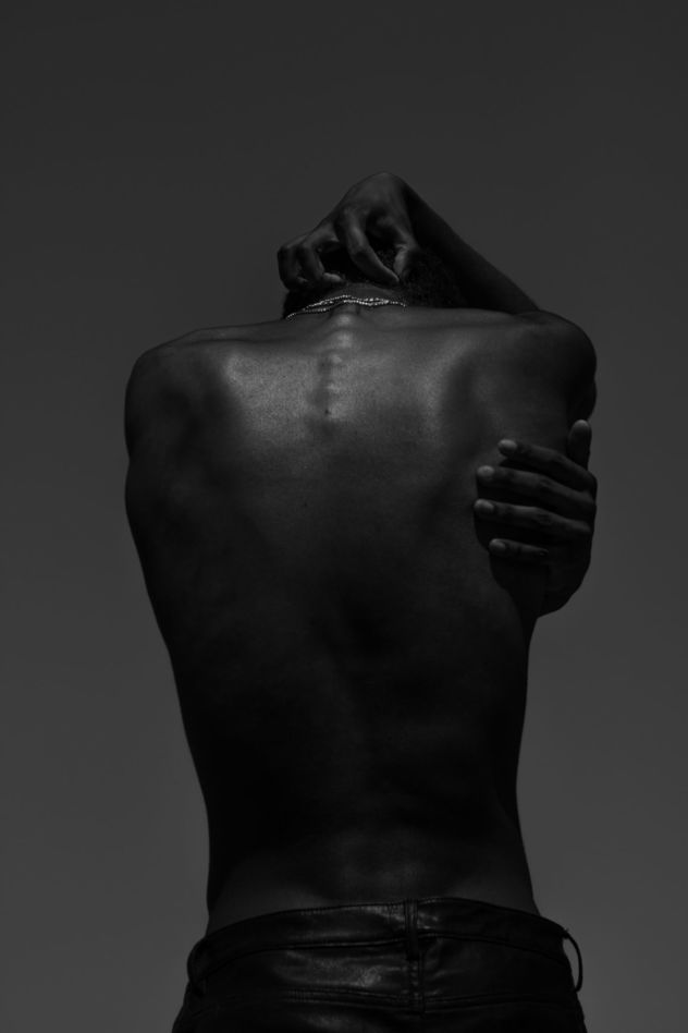 'PARIS' by THE MASONS c/o MAKING PICTURES  focusing on skin and the beauty and detail of melanin