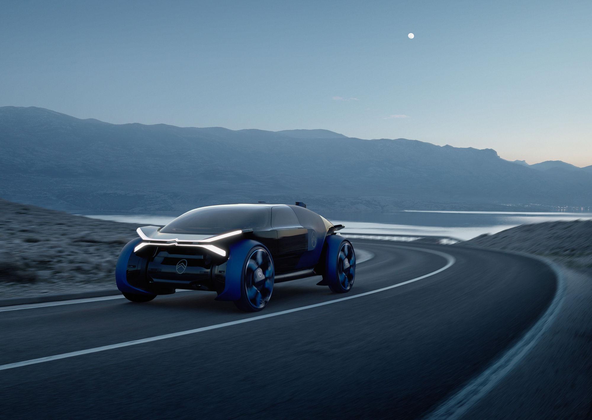 """SEVERIN WENDELER: """"Citroen Concept 2019"""" Photography by Sebastien Staub c/o Severin Wendeler for Citroen"""