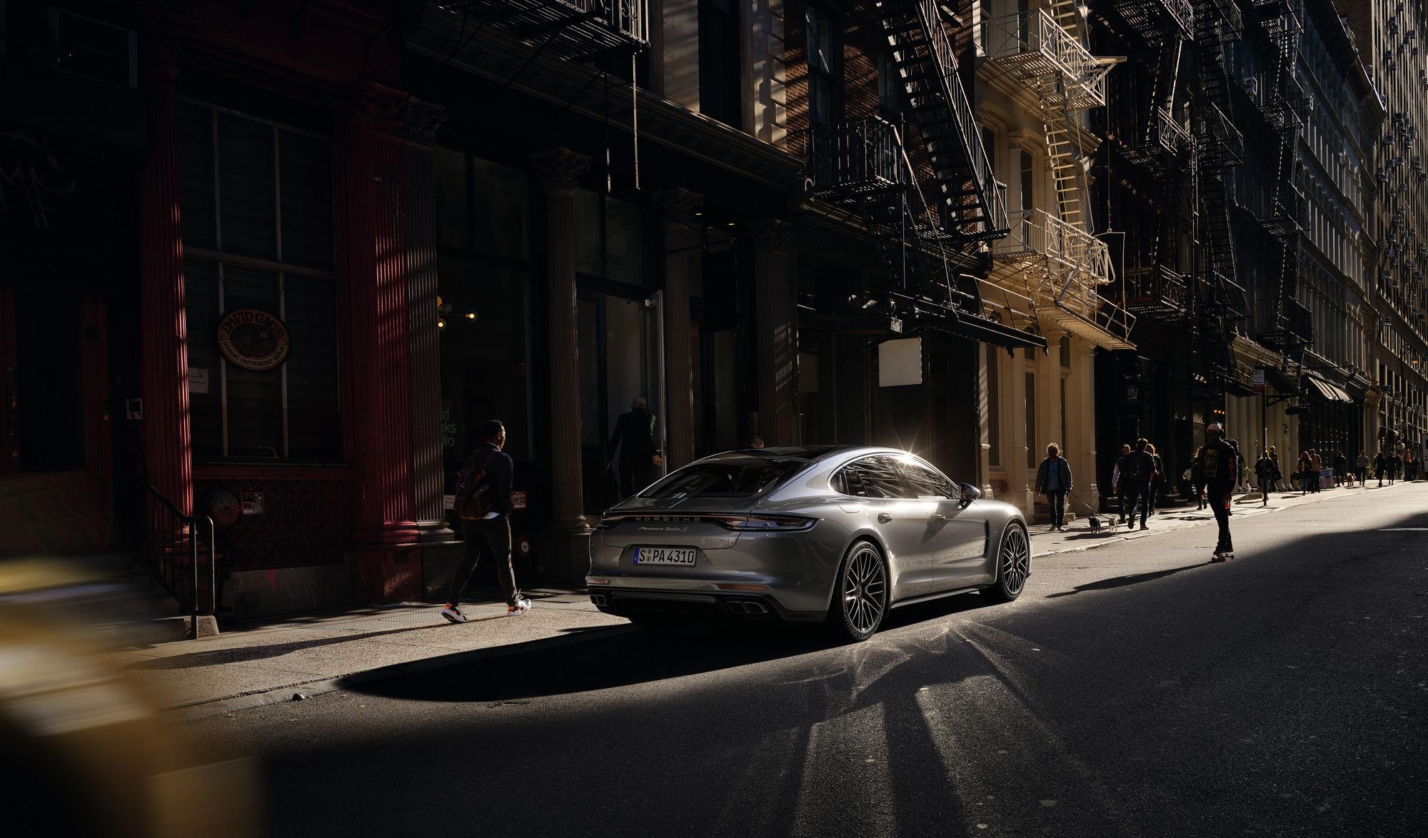 HOLGER WILD für den neuen Porsche Panamera