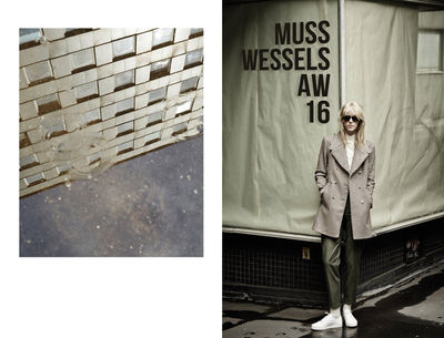 HILLE PHOTOGRAPHERS: Anja Boxhammer for Musswessels Fall/Winter 2016