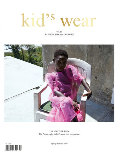 Kid's Wear Magazine Vol. 50 Cover By Achim Lippoth