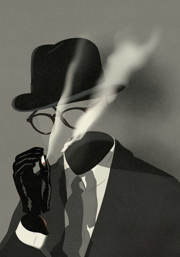 SEPIA illustration: Emmanuel Polanco, The Invisible Man