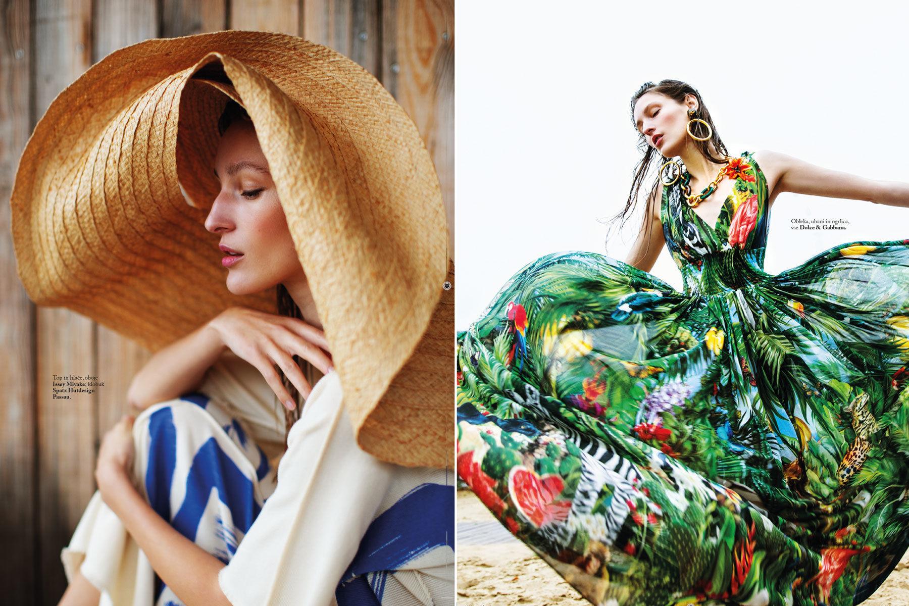 NINA KLEIN - Hair & Make up Melanie Schoene - Suzana Holtgrave - Elle