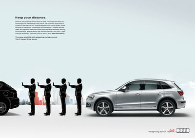 ANKE LUCKMANN for AUDI Q5