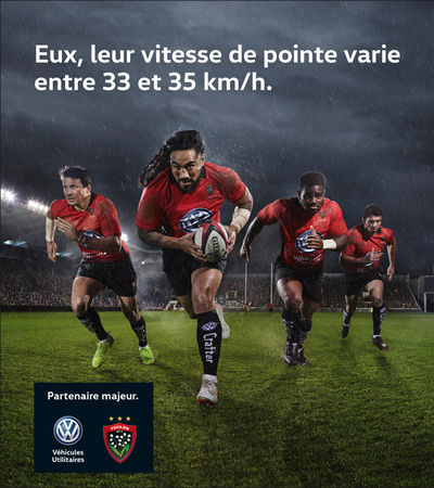 VW VÉHICULES UTILITAIRES RC TOULON RUGBY by Markus Mueller