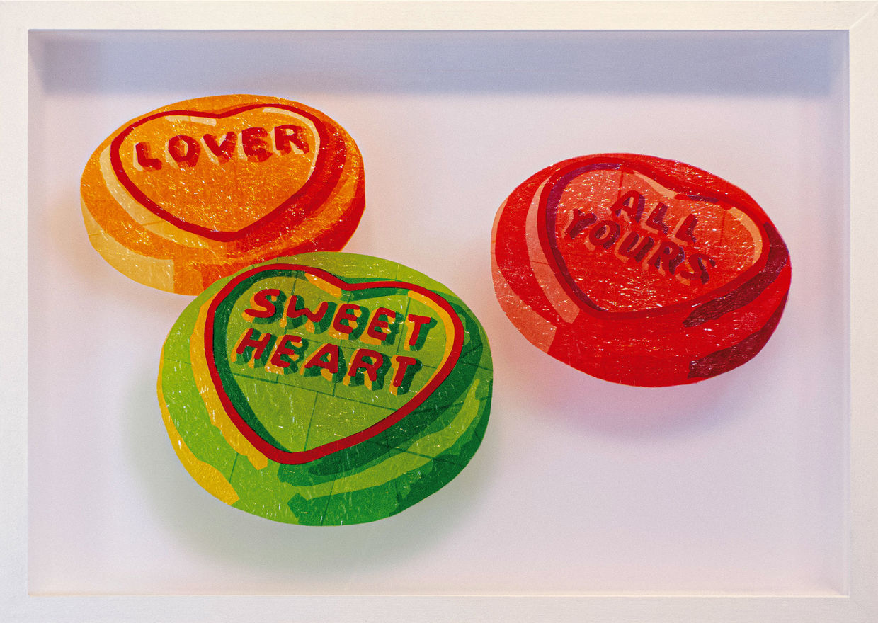 SweetArt, West Contemporary, Gallery Different London, Sweet Nostalgia,