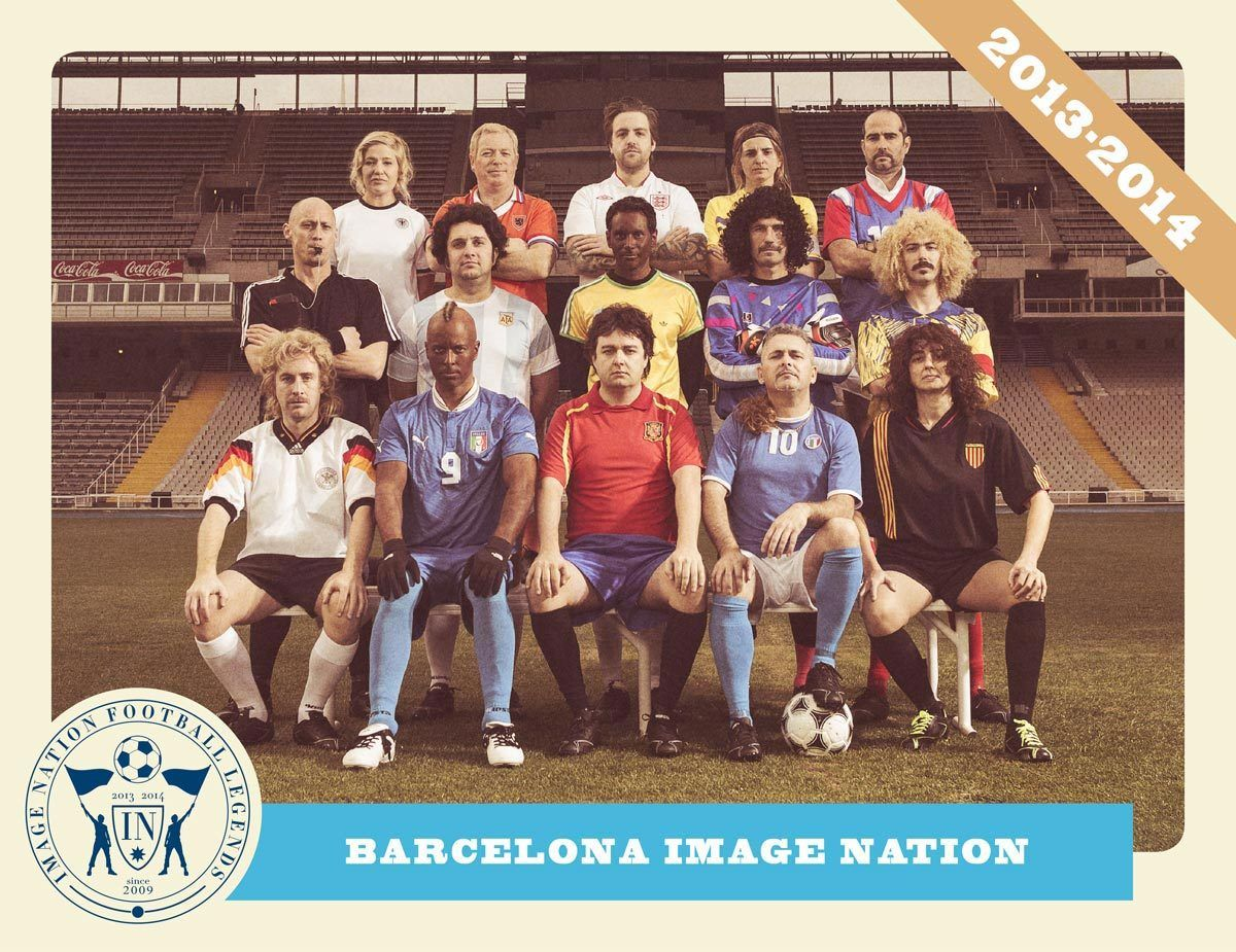 IMAGE NATION FOOTBALL LEGENDS BY CARLES CARABÍ