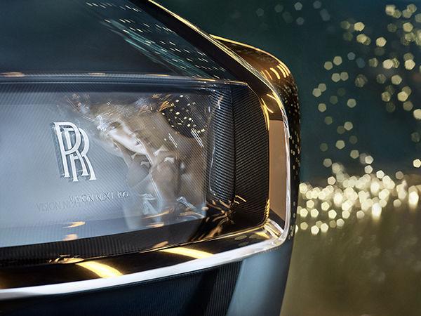 BMW GROUP : Rolls-Royce Vision Next 100