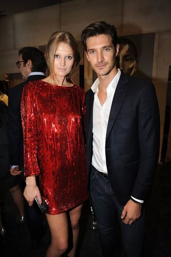 "HUNTER & GATTI : ""IWMYAS"" Gold Series exhibited at Rudolf Budja Gallery Editions, Miami.  Opening Preview hosted by Toni Garrn and Jon Kortajarena"
