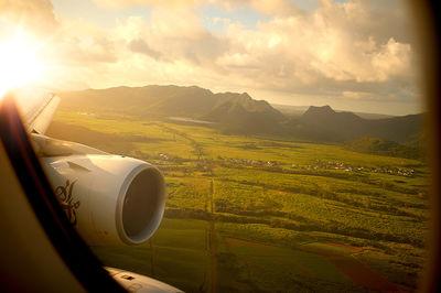 Approaching Mauritius
