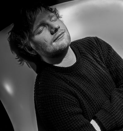 Jonas Holthaus c/o Freda+Woolf photographed Ed Sheeran for Zeit Magazin