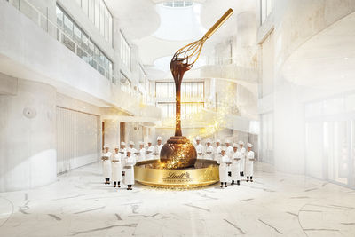 PATRICK SALONEN for LINDT HOUSE OF CHOCOLATE