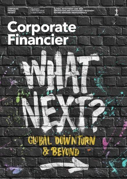 JSR AGENCY- Alán Guzmán- Corporate Financier Magazine cover