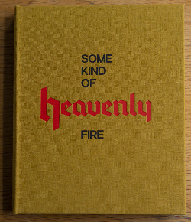 ' Some Kind of Heavenly Fire' by Maria Lax, published by Setanta Books