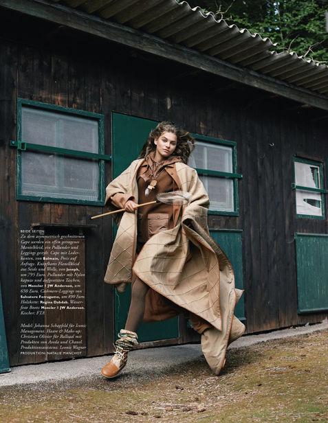ICONIC :  Johanna Schapfeld for Madame Germany November 2020