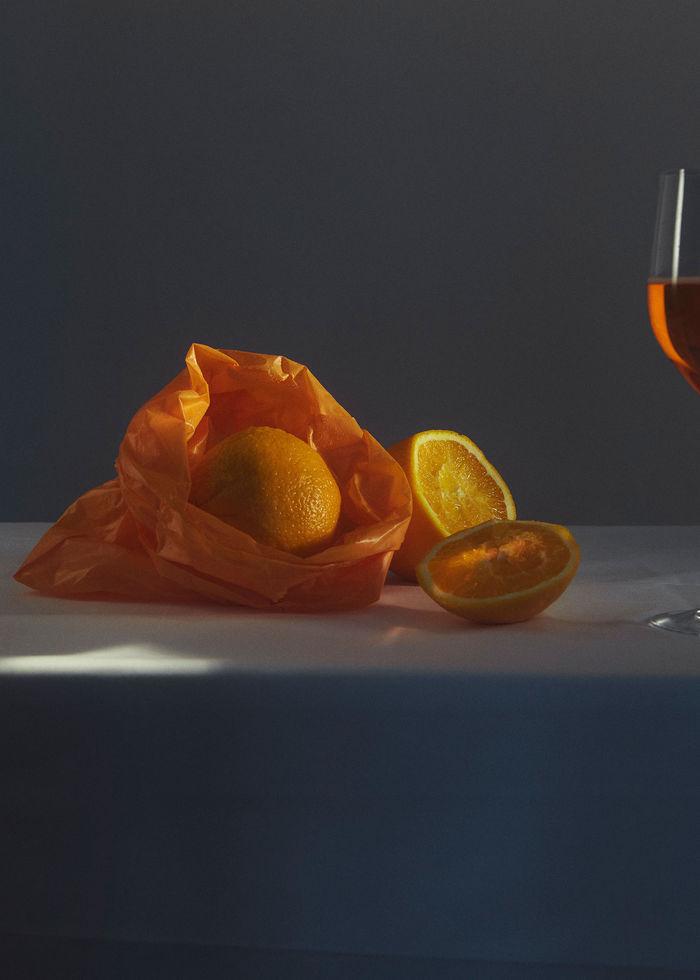 """Ruben Riermeier, """"Orange Summe"""""""