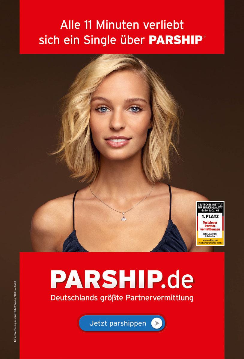 Model 2013 werbung parship Parship Werbung