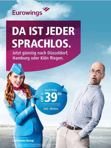 CARSTEN GÖRLING for EUROWINGS with Christoph Maria Herbst