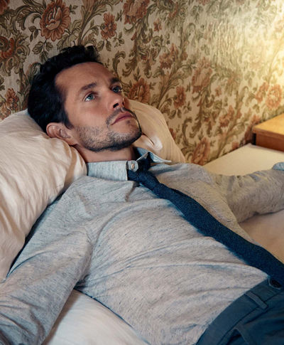BLOSSOM MANAGEMENT: Stephan Schmied (Grooming) for Hugh Dancy and The Article Magazine