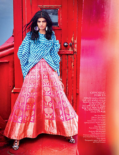 Yasmin Heinz Make-up for VOGUE India