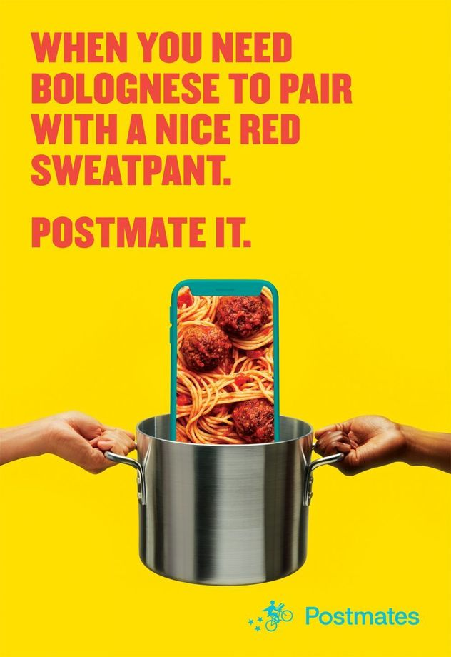 POSTMATES by Jonpaul Douglass c/o GIANT ARTISTS