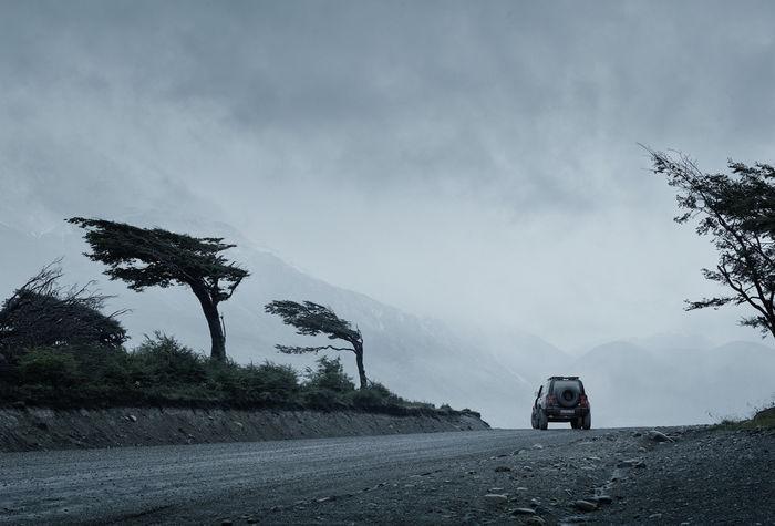 "SEVERIN WENDELER: PATAGONIA x DEFENDER 2020 ""Photo & CGI car by Sebastien Staub c/o Severin Wendeler"""