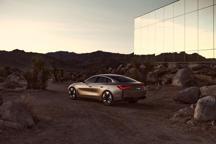 BMW i4 cv - MARC WITTKOWSKI on-set for BMW