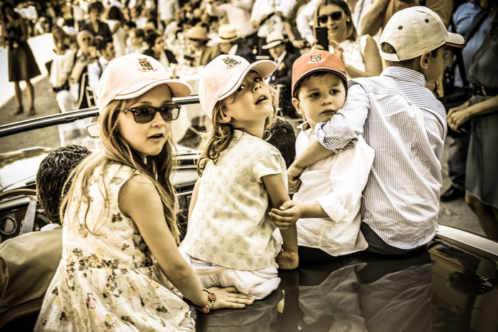 Kids at Villa d`Este
