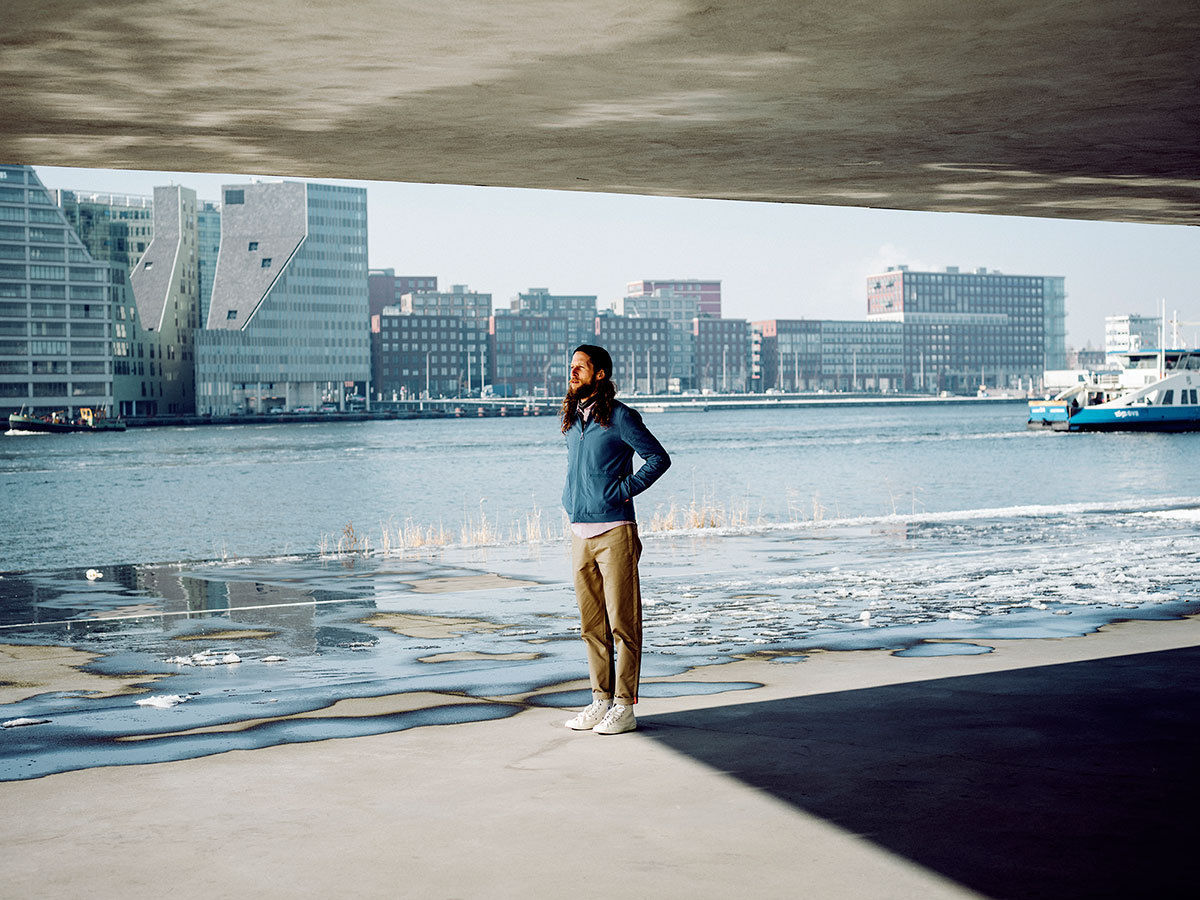 Jake Stangel continued his longtime collaboration with world class cycling lifestyle brand Rapha for their Winter Spring City Shoot in Amsterdam