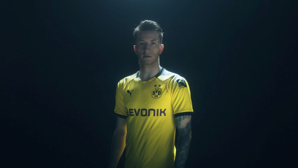 Malte Goy c/o 1ST UNIT  for PUMA  BVB tricot launch 2019