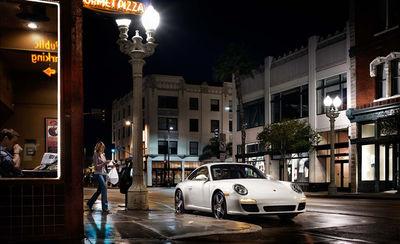 Porsche 911 pizza