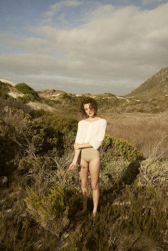 Caroline Mackintosh shoots for Dear Rae