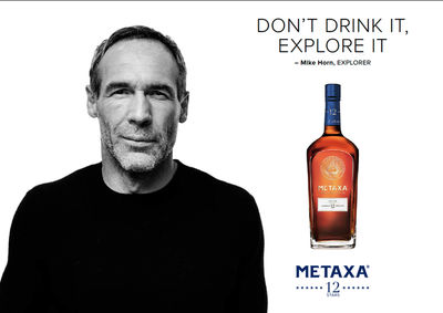 Don't drink it, Explore it - THE SATISFACTION for METAXA