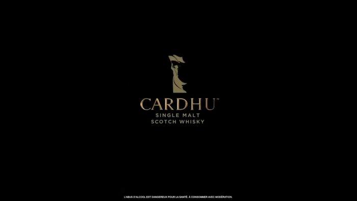CARDHU LEGENDARY SINGLE MALT SCOTCH WISKY BY MICHAEL HIRSCH C/O FARIYAL KENNEL