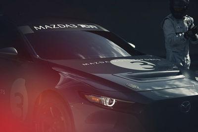 "SEVERIN WENDELER: ""Mazda 3 TCR Ready"" Photography by Patrick Curtet c/o Severin Wendeler"