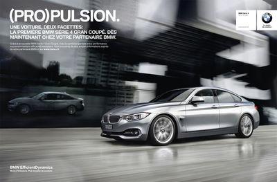 BMW 4series Gran Coupé Campaign
