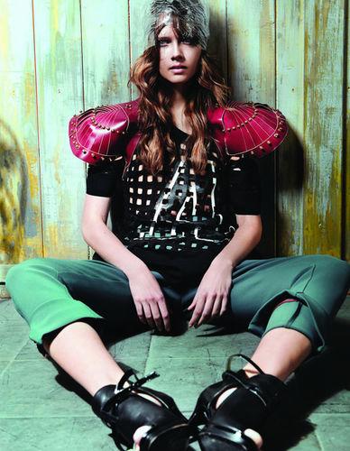 AprilMay for Gloss Magazine
